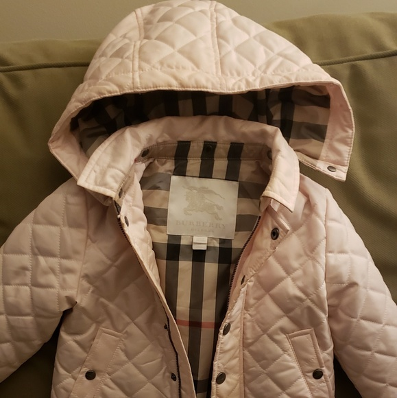 6f1a12c19 Burberry Jackets & Coats | Ilana Quilted Water Repellent Jacket ...